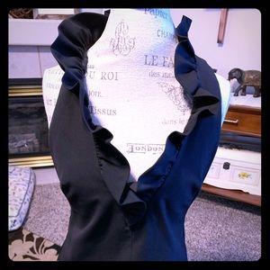 Ladies Trina Turk Ruffled Shirt